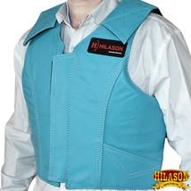 Hilason Leather Bareback Pro Rodeo Horse Riding Protective Vest U-V140 - $126.61