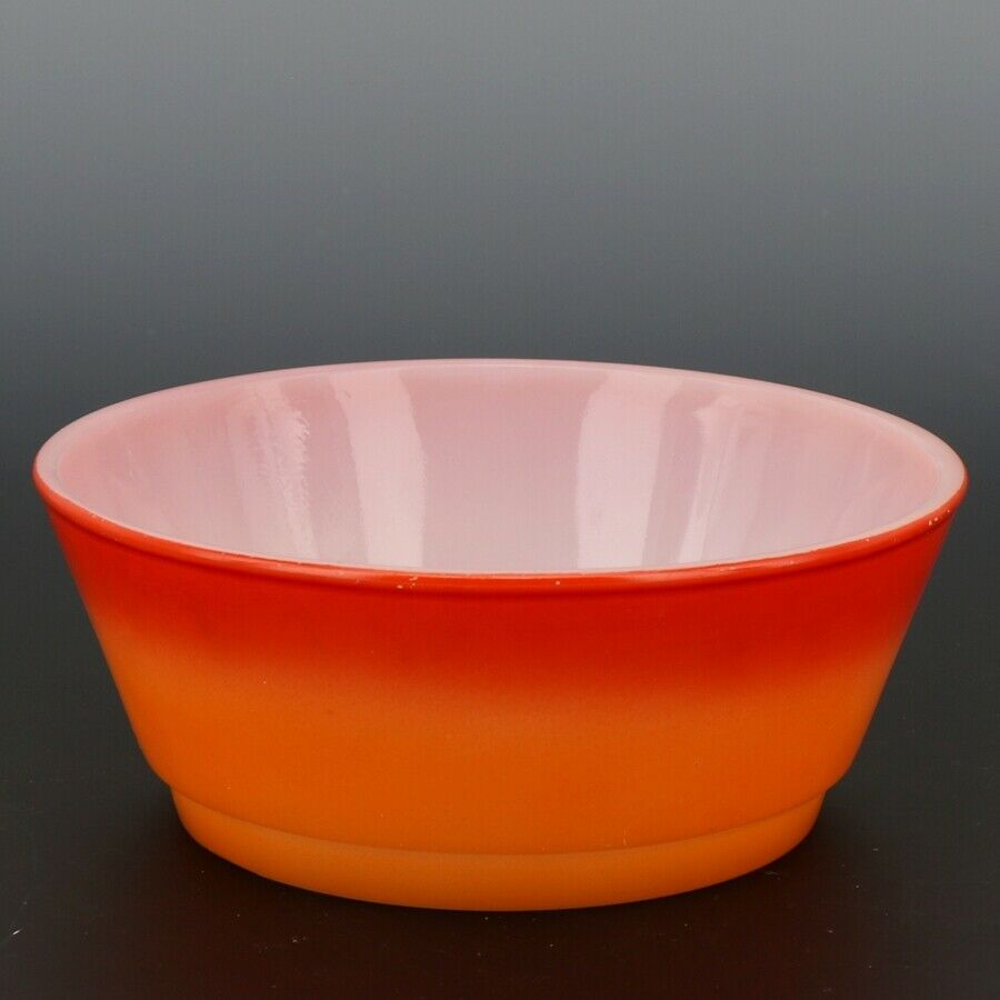 "Fire-King 5"" Stacking Bowl Sunset Flame"