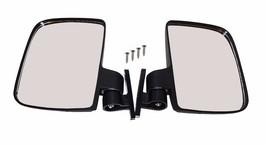 Golf Cart Side Mirrors Rear View Pair Folding Fits Ezgo Yamaha TXT Club ... - $21.16