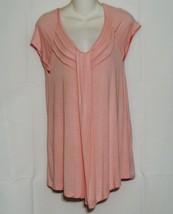 Hi Comfort Size Medium Pink Pajama Top and Bottoms Bamboo Rayon - $10.88