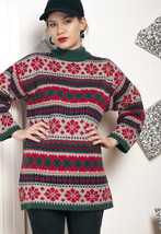 Knit Xmas jumper - 90s vintage sweater - $40.11