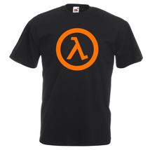 Half Life Logo T-shirt,100% Cotton, Men's, Women,Kids  - $15.99