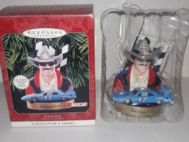 Hallmark Keepsake Richard Petty Christmas Ornament 1998 w Box NASCAR - $4.36