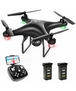 SNAPTAIN SP600 WiFi FPV Drone with 720P HD Camera, Voice Control, Gestur... - $111.02