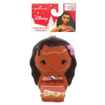 Hallmark Disney Moana Decoupage Árbol de Navidad Ornamento Nuevo con Etiqueta