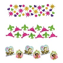 Tiana Enchanted Princess Frog Disney Birthday Party Decoration Confetti 3-Pack - $9.17