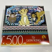 BRAND NEW Lion King Disney 500 Piece Jigsaw Puzzle 14 x 11 NEW - $11.28