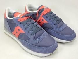 Saucony Jazz O Original S1044-326 Women's Running Shoes Sz 7 M (B) EU 38 Purple