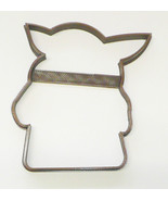 Baby Yoda Outline Pose 2 Adorable Space Child Star Wars Cookie Cutter US... - $1.99