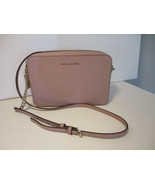 Authentic Michael Kors Large EW Crossbody Truffle Saffiano Leather New W... - $103.94