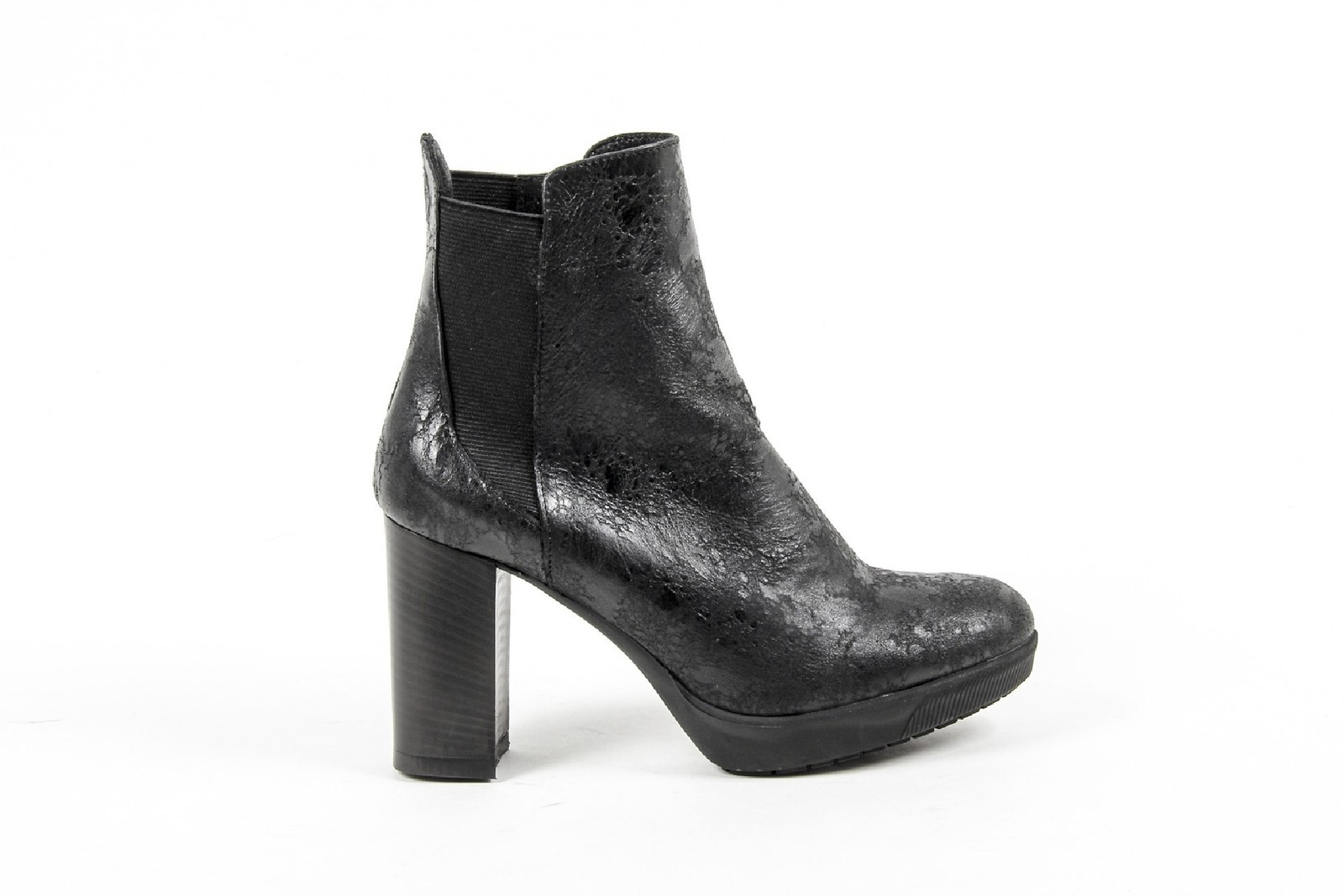 Primary image for V 1969 Italia Womens Ankle Boot C22 VITELLO NERO