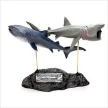 Shark Pair Cruising Reef Big Sky Carvers Stonecast Sculpture NIB Retired