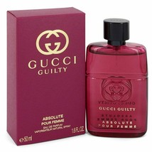 Gucci Guilty Absolute by Gucci 1.7 oz EDP Spray Perfume for Women New in Box - $67.28
