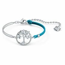 Authentic Swarovski Symbolic Tree of Life Blue Rope Bracelet - $83.22