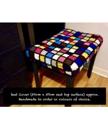 Handmade To Order - Seat Cover (50cm x 37cm seat top surface approx) - $274.22