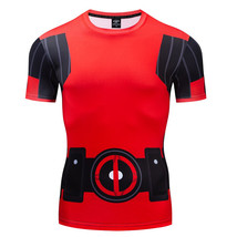 X-Men Deadpool Wade Wilson Compression Fitted T-Shirt - $22.99