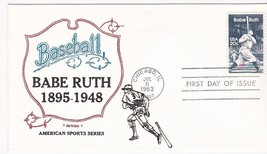 Babe Ruth #2046 Chicago, Il July 6, 1983 Artopages Cachet D-160 - $2.98