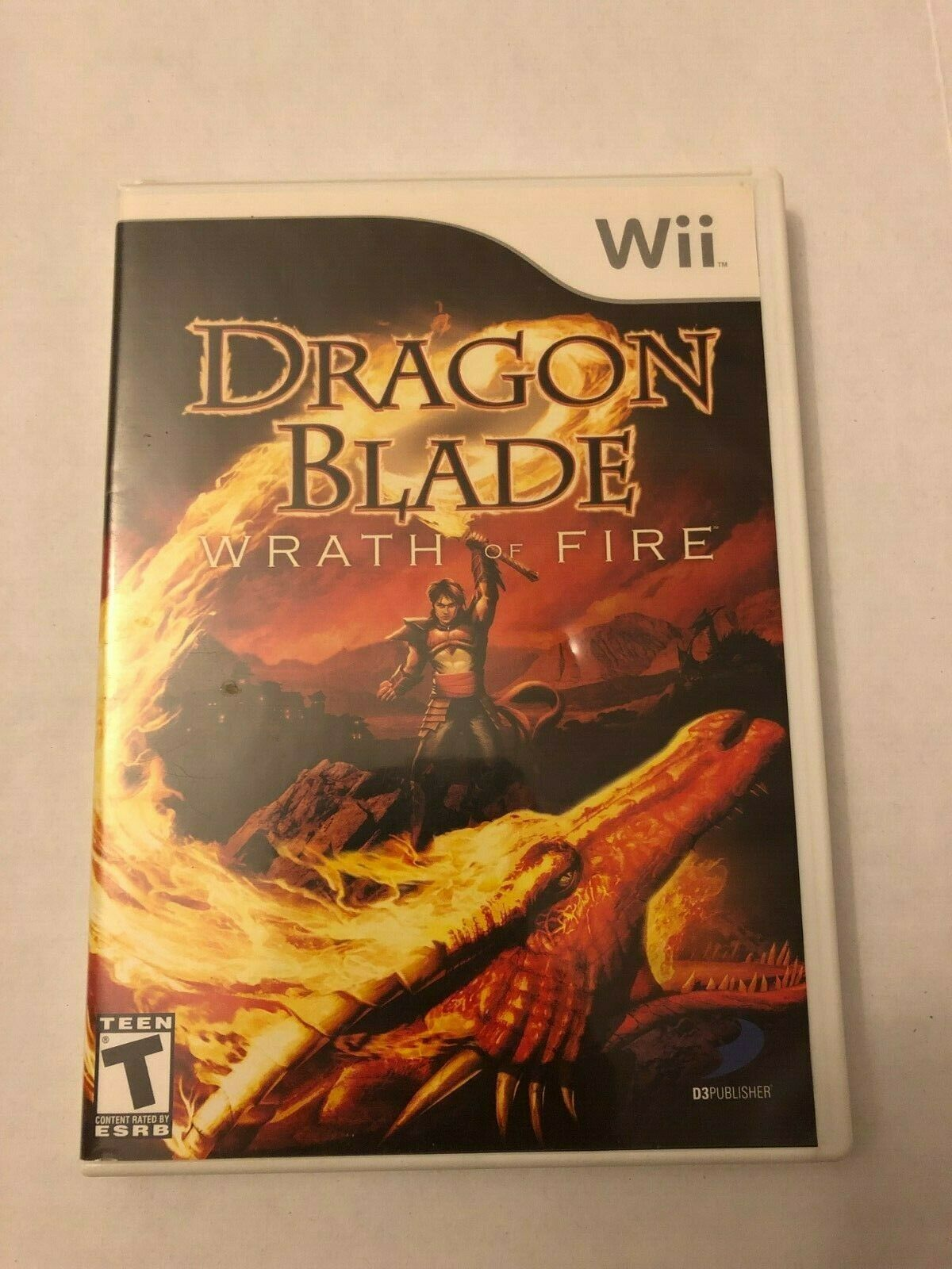 Primary image for Dragon Blade: Wrath of Fire (Nintendo Wii, 2007) USED