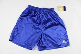 Vintage 90s Neuf Adidas Homme Petit Sort Out Football Gym Jogging Short ... - $39.47