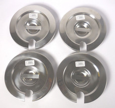 Lot of 4 Browne-Halco Notched Stainless Steel Lid for 4 Qt. PN VICO612 1... - $21.94