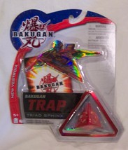 New Vestroia 2009 Bakugan Trap Triad Sphinx Battle brawlers red - $8.00