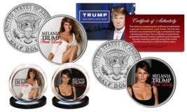 MELANIA TRUMP First Lady 2016 Presidential Election OFFICIAL JFK U.S. 2-... - $9.85