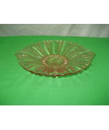 "Cranberry Round Glass 8"" Candy Relish Dish - $9.46"