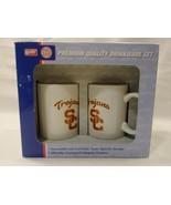 TROJANS SC CALIFORNIA COLLEGIATE PREMIUM QUALITY COFFEE MUG CUP SET FOOT... - $28.50