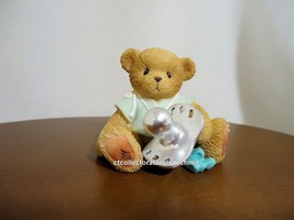 Cherished Teddies Teddies To Cherish Baby Christen Boy - $18.95