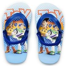 Toy Story 4 Woody & Buzz Disney Flip Flops w/ Optional Sunglasses Beach Sandals - $10.39+