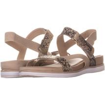 Anne Klein AK Sport Nolita Strappy Sport Sandals 735, Light Natural/Ligh... - $21.11