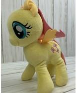 "Hasbro My Little Pony 10"" Fluttershy Sitting Aurora World Plush 2014 EUC - $11.39"