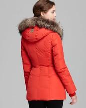 Mackage Women's Pink Down Coat Adali Lavish Fur Trim Hood Size XXS image 6