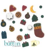 Button Pack 22 buttons (alternate) 9306 Christmas Rules Flip It JABC Liz... - $31.86