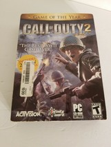 Call of Duty 2. PC CD-ROM Game by Activision. 6 Discs w/Instructions and... - $15.88