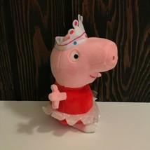 """Ty Ballerina Peppa Pig Plush Beanie Baby 8"""" 2015 - $9.89"""