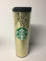 Starbucks Holiday 2020 16oz Gold Multi Bubble Hot Tumbler Cup - $37.39