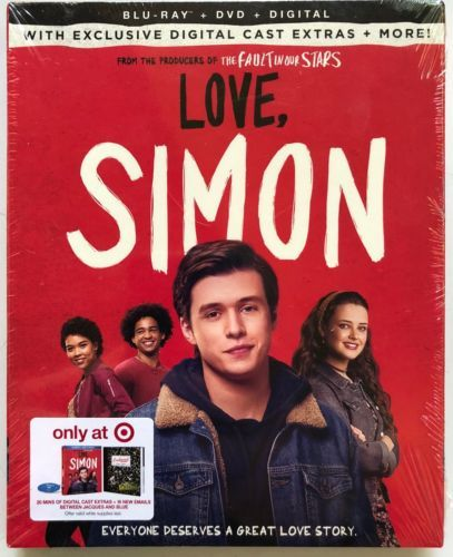 Love, Simon [Blu-ray + DVD + Digital] Target Exclusive
