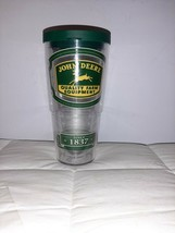 John Deere 24 Oz. Tervis Tumbler Cup Collectible Official New Without Tags - $14.95