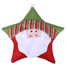 (santa claus)Christmas Theme Five-star Cushion Gift Supplies Showcase De... - $26.00