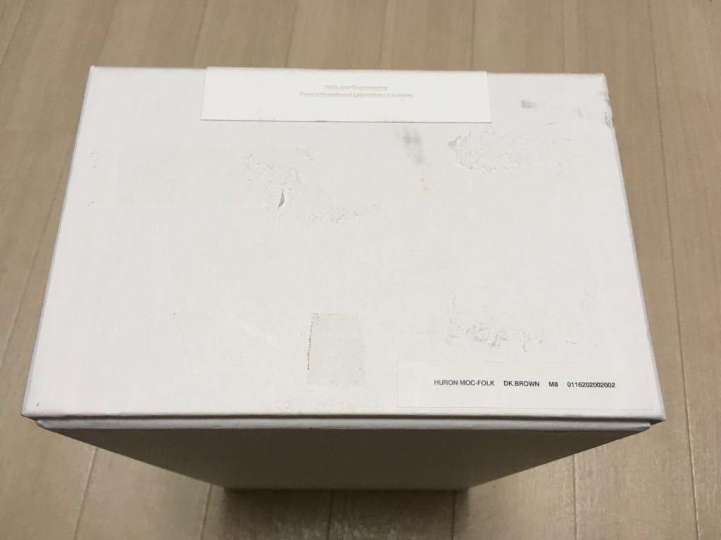 visvim HURON MOC-FOLK DK.BROWN US8 sneaker boots suede shoes  image 7