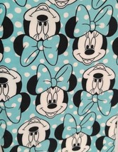 LuLaRoe Disney MINNIE Mouse Face AQUA BLUE Polka Dots Leggings TC Tall &... - $41.50