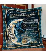 To My Granddaughter Blanket From Grandma, Sea Turtle Throw Blanket, Gift... - $52.62+