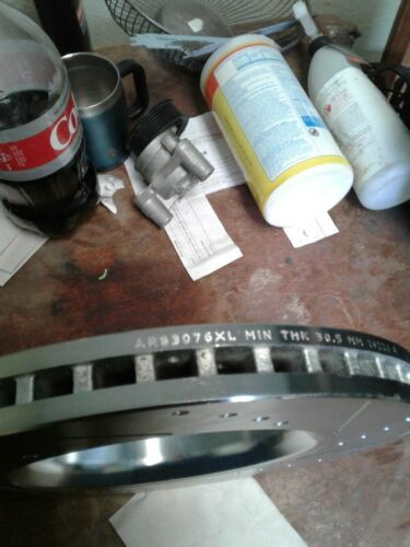 Power Stop AR83076XL Left Drilled and Slotted Disc Brake Rotor (jew)