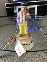 "emmett kelly jr clown figurines flambro ""Price Dropped "" - $26.73"