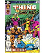Marvel Two-In-One Comic Book #89 The Thing & Human Torch, Marvel 1982 VE... - $3.99