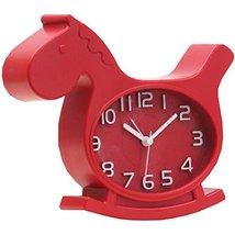 Nostalgia Noiseless Alarm Clock Kids' Birthday Gift Student Clock Red - $19.66