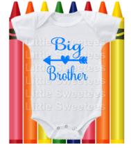 Big Brother Onesie Blue Arrow Shirt - $15.00