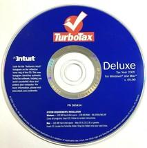 Intuit TurboTax Deluxe 2005 - Windows/Mac  - $9.04