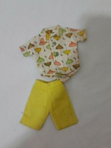 Ideal Vintage Tammy Doll Outfit 9113-2 Tennis the Menace Shorts and Top ... - $22.99